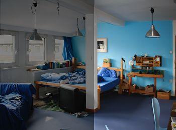 Wohnraum für den Umgang mit getrennt lebendem Kind