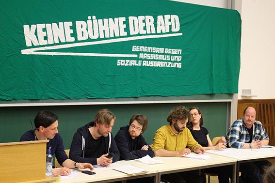 """""""Europa, der Rechtsruck und was tun wir?"""" – Reden mit der AfD?"""