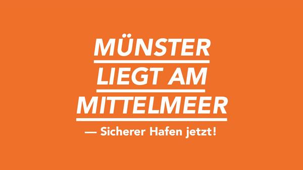 Demo-Aufruf: Unsere Solidarität kennt keine Grenzen – Münster liegt am Mittelmeer!