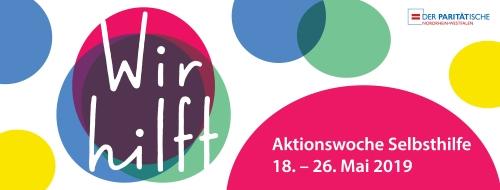 Aktionswoche Selbsthilfe des Paritätischen Münster vom 18. bis 26. Mai 2019