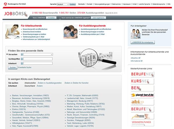 Illegaler Datenhandel mit Jobangeboten: Arbeitsagentur löscht tausende Einträge