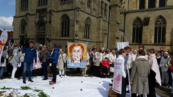 Maria 2.0: Die neuen Thesen kommen aus Münster?