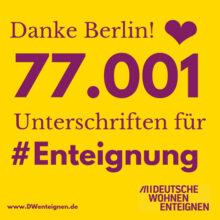 Berlin: Über 77.000 wollen enteignen