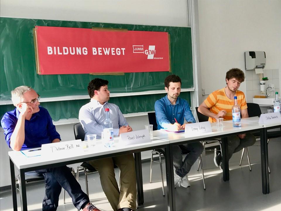 """Podiumsdiskussion """"Zukunft der Hochschule"""": NRW-Hochschulgesetz ist """"stark rückwärtsgewandt"""""""