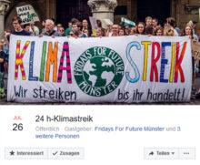 Schulstreik ohne Schulzeit: FFF im 24h-Marathon