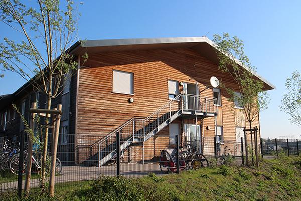 Flüchtlingsheim, Robert-Koch-Straße