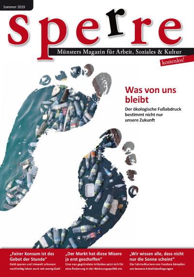 """Neue Sperre Sommer 2019 zum Thema nachhaltiges Leben erschienen: """"Was von uns bleibt?"""""""