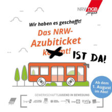 Ab heute: Azubiticket für ganz NRW