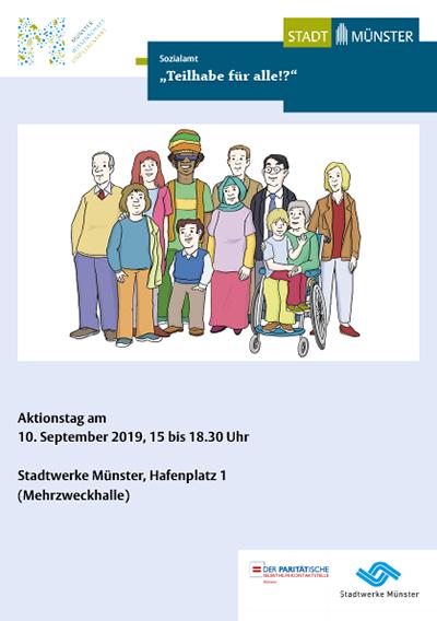 """Aktionstag: """"Teilhabe für alle!?"""""""