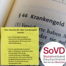 Bei Krankheit droht Armut!  Ein Gastbeitrag von Christian Schultz vom Sozialverband Deutschland, Schleswig Holstein