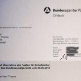 """Jobcenter: Bundesagentur bestätigt den Übernahmeanspruch auf Schulbuchkosten – """"Tacheles-Schulbuchkampagne erfolgreich"""""""