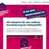 """Bundesweites Aktionsbündnis: """"Wohnen ist Menschenrecht"""": Radikaler Kurswechsel in der Wohnungs- und Mietenpolitik gefordert"""