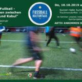 """Lesung des FANport: """"Heimat Fußball - Mein Leben zwischen Bremen und Kabul"""""""