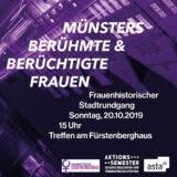 Frauenhistorischer Stadtrundgang: Münsters berühmte und berüchtigte Frauen