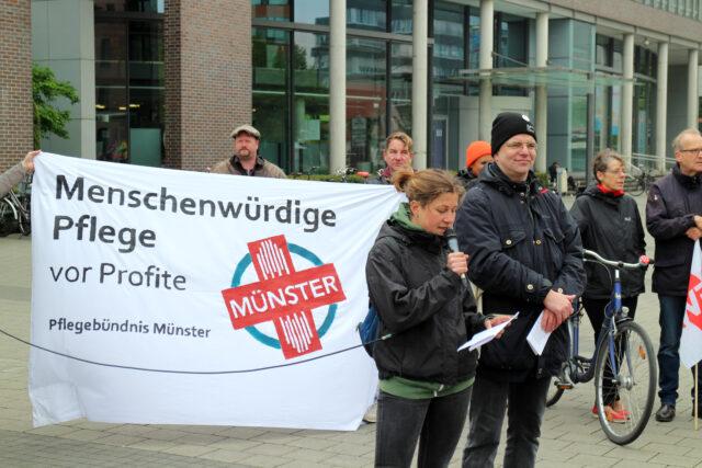 Protest am 1. Mai
