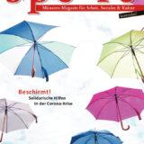 """Die Printausgaben der """"SPERRE – Münsters Magazin für Arbeit, Soziales & Kultur"""""""