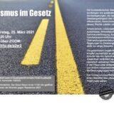 Veranstaltung der GGUA Münster (Flüchtlingshilfe) am 25.03.2021